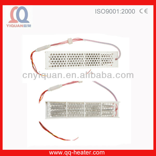 Teflon electric heating element with temperature control