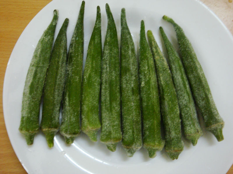 IQF Okra whole/ cut