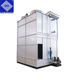 Rectangular water turbine stable closed hybrid cooling tower