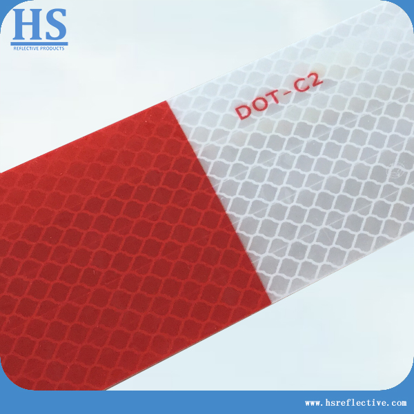 Save 60% white/red reflective tape/DOT-C2 similar to 3M durability 10 years