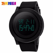 skmei 1142 silicone couple size hot model digital waterproof watches for men