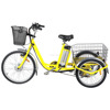 front drive electric tricycle with lithium battery