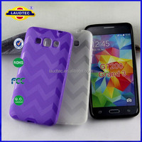 W Line Anti-slip Frosted TPU Protective Case for Galaxy Grand 3 G7200