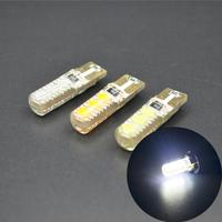 Car T10 LED Bulb 194 W5W 6SMD 5050 Silicone Shell T10 Canbus LED Car Lights Bulb
