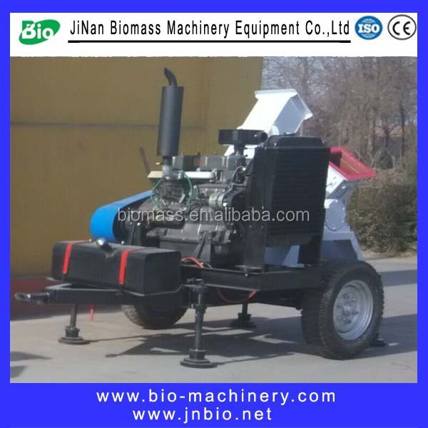 China Manufacturer factory BIO Series direct diesel wood chipper shredder/wood chipper machine/wood chipping machine