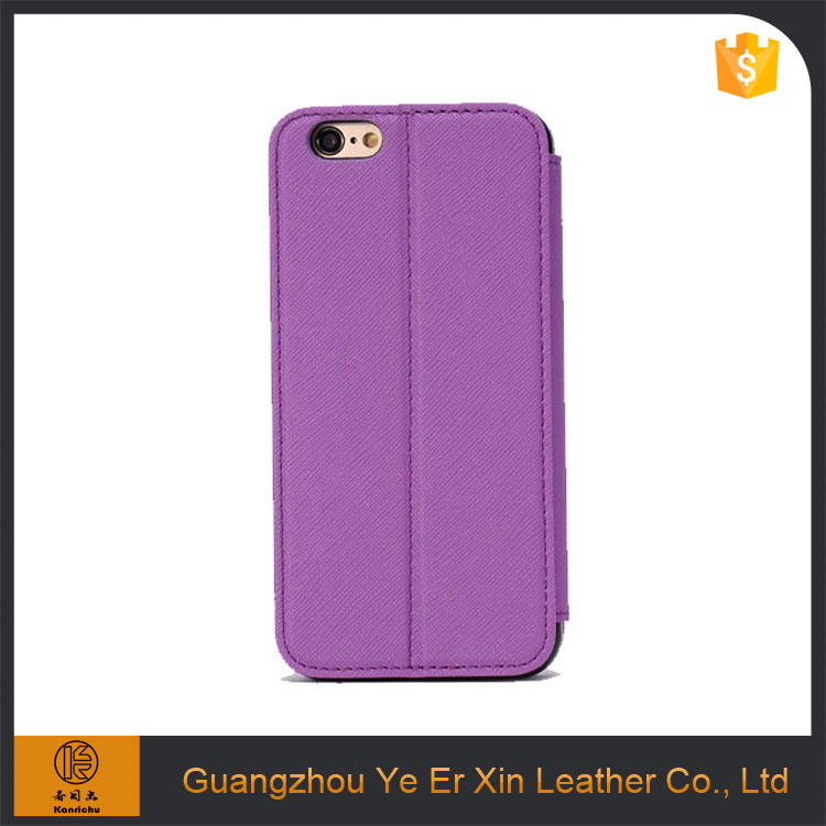 Factory price wholesale free sample pu leather cell phone case for iphone 6s/6s plus/7/7 plus