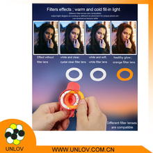 Micro lens selfie flash, selfie flash light for phones