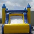 Blue bouncy castle/inflatable castle/jumping castles with prices