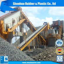 EP1250/4 rubber conveyor belt for stone crusher