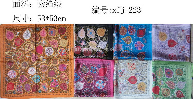 Contemporary exported hottest 2015 paisley silk scarf