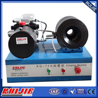 KG-75D hydraulic hose fitting crimping machine price for sale