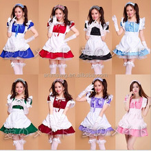 High Quality Uniform Clothes Japanese Sexy Dress Lolita Maid Dress Waitress Costumes Anime Cosplay Halloween Costume Fancy Dress