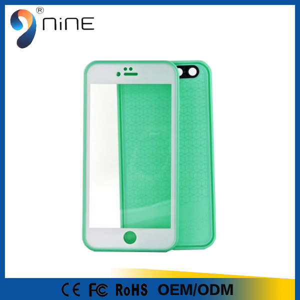 For Apple i7 Case Armor Hybrid Silicone TPU Mobile Back Cover Stand Holder 360 Degree Rotation Waterproof Cellphone Cases