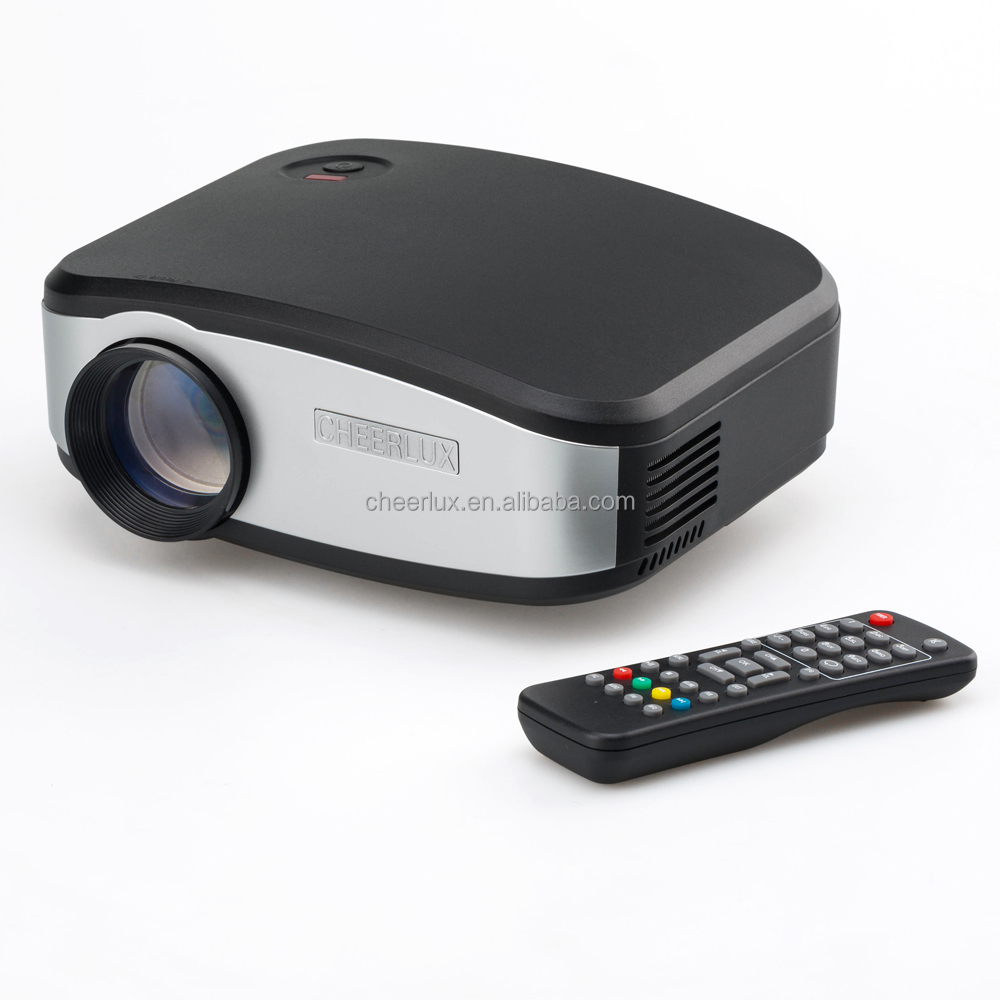 Newest best competitive price cheerlux c6 mini projector for Highest lumen pocket projector