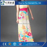 economical big size women dress evening dress oem factory