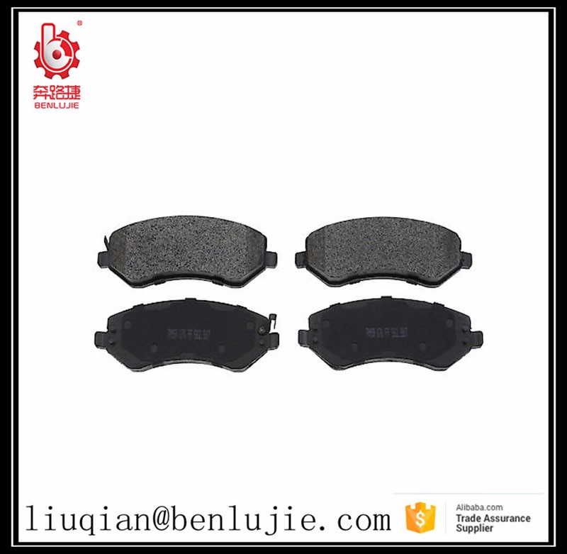 auto spare parts car brake pad For hyundai veloster car parts