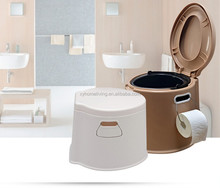 Widely used plastic portable toilet for elderly