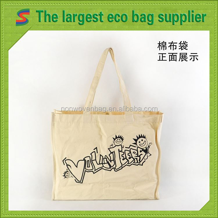 men canvas bag plain white cotton bag