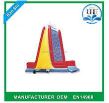 Commercial Popular High quality inflatable climbing for fun