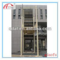 hydraulic four post car elevators price for 4s shops