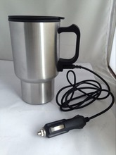 China 450ml Double wall stainless steel electric cooling <strong>cup</strong>/auto mug <strong>cup</strong>