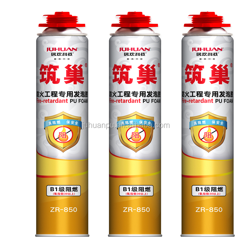 JUHUAN best sell Polyurethane foam Type fire reatardant foam with great price