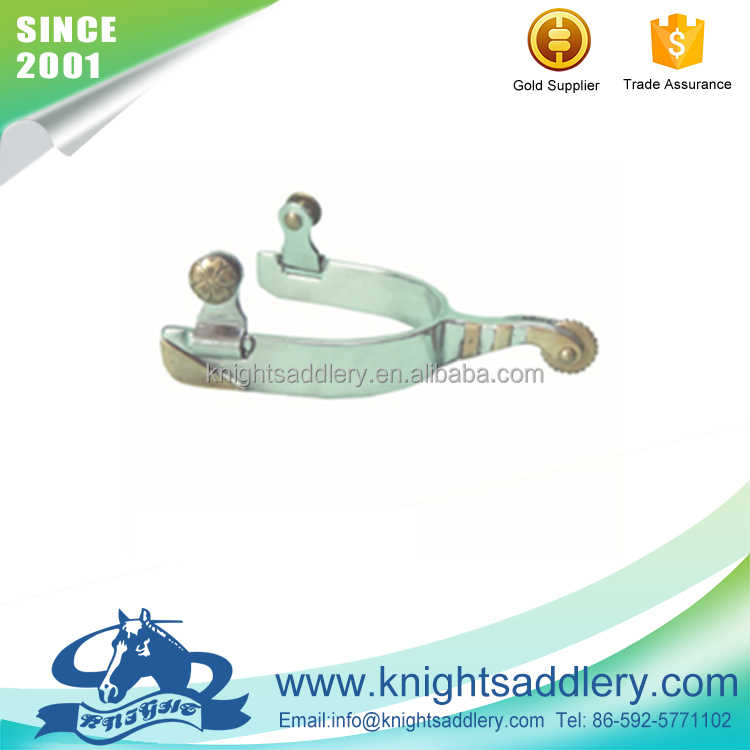 SS Horse Riding Silver English Spurs