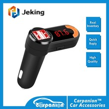 Carpanion Bluetooth Car Kit Fm Transmitter, Dual USB Charger Adapter, Hands-free Calling & MP3 Player