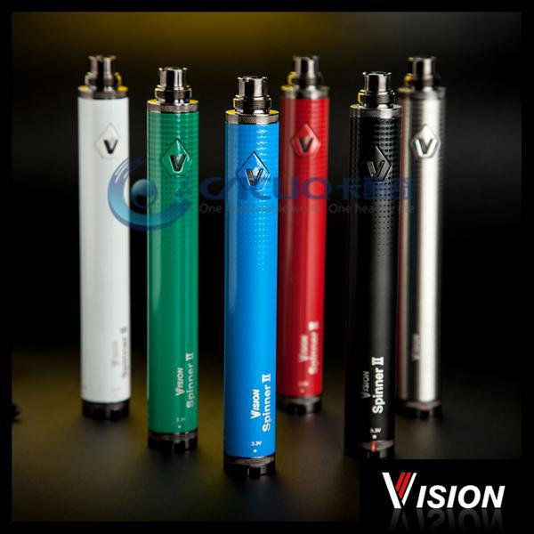 vision battery wholesale luxury colors vision spinner 2 non disposable electronic cigarette