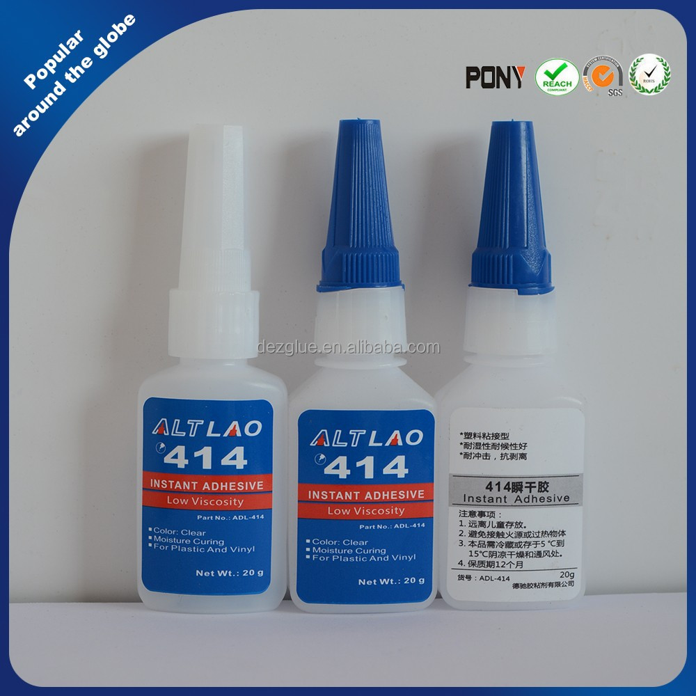General Purpose 414 Low Viscosity Instant Cyanoacrylate Adhesive For Plastic