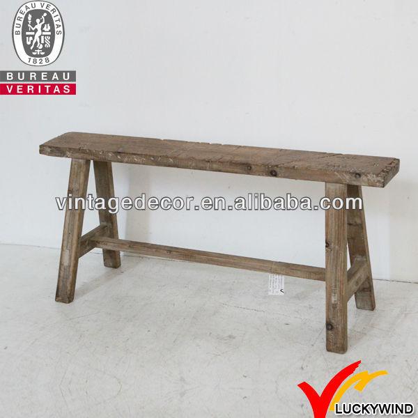 수제 천연 소박한 긴 오래된 나무 벤치-나무 의자 -상품 ID ...