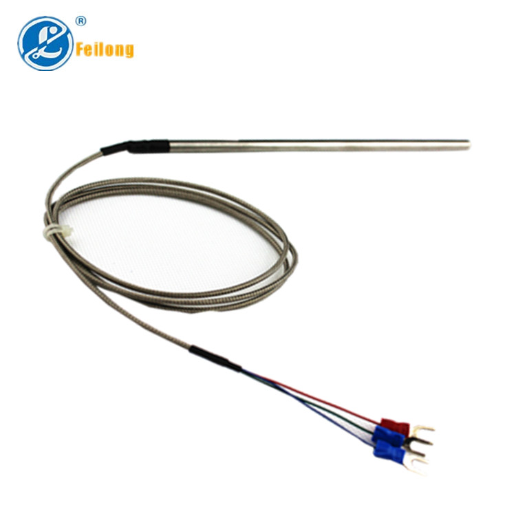3 Wire Temperature Sensor Rtd Pt100 With Stainless Steel Tube - Buy ...
