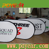 Advertising display horizontal pop up banner frame,sports bean banner frame