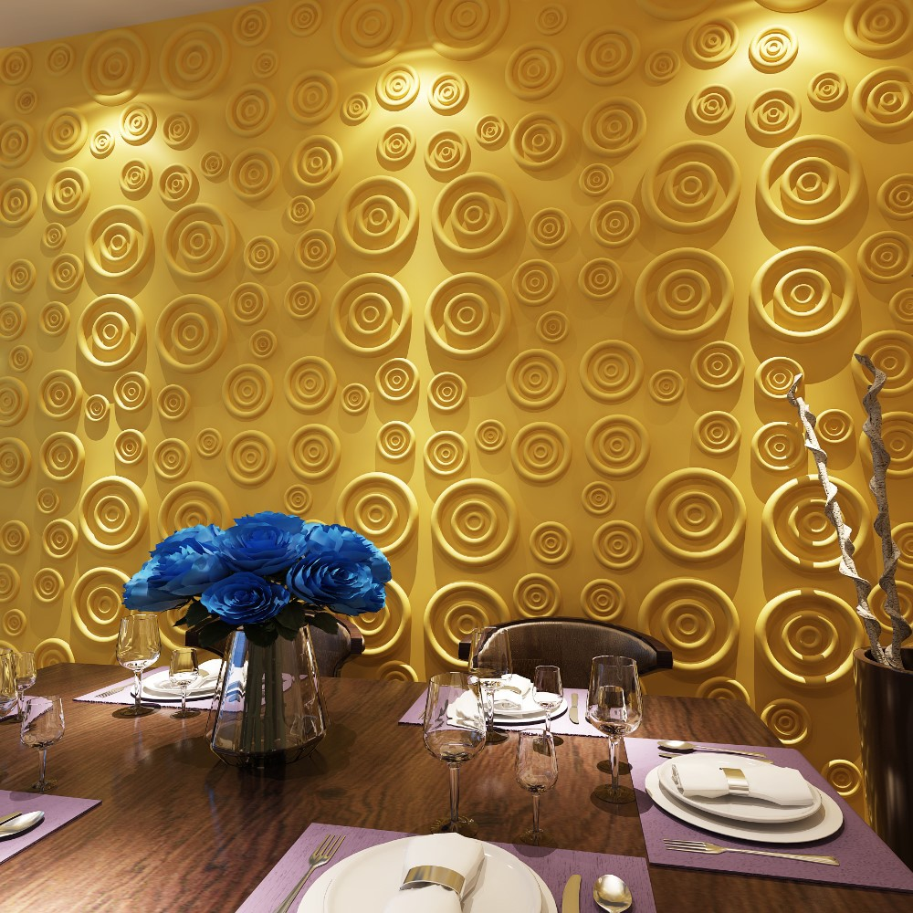 Decorative home decor 3d wall paper buy decorative home for 3d wallpaper home decoration