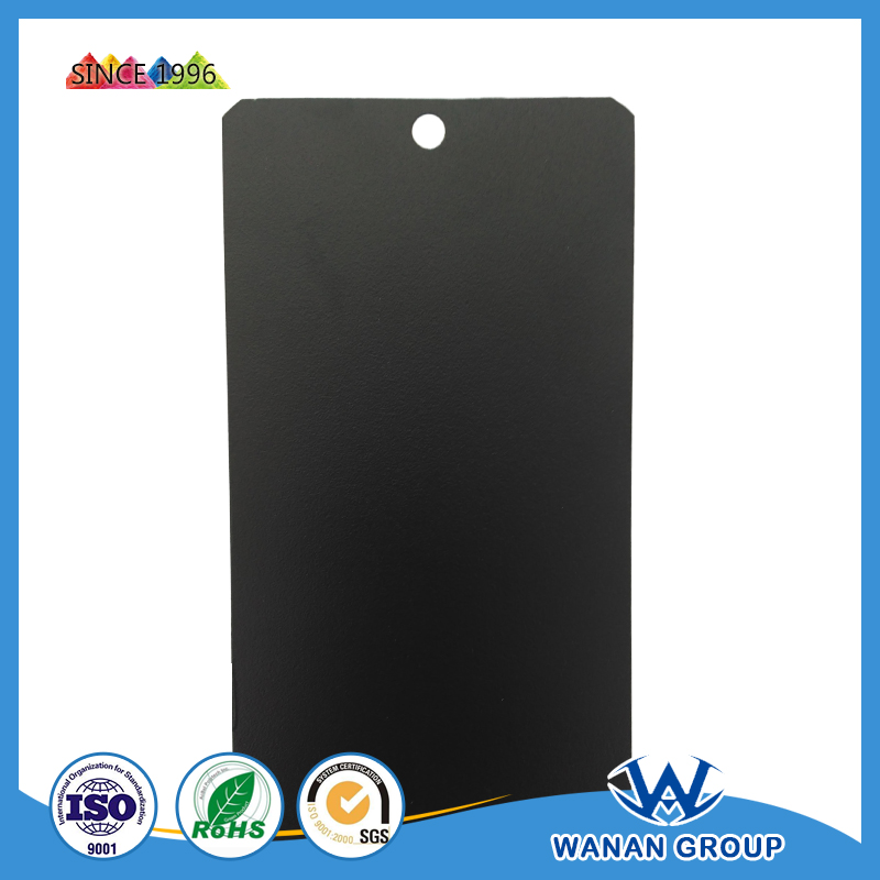 WA4542 black color sand grain powder coating electrostatic paint China factory