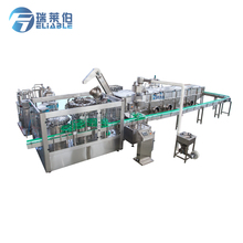 Hot Popular Automatic Rum/Brandy/Gin Glass Bottle Bottling Line / Production Plant