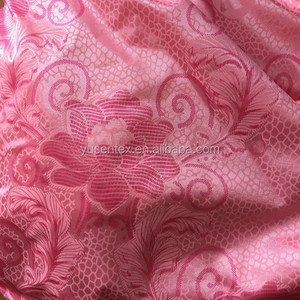 100% polyester printed tricot knitted fabric for mattress bedding
