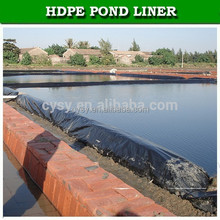 UV Stabilized High Density Polyethylene Geomembrane fish farm pond liner