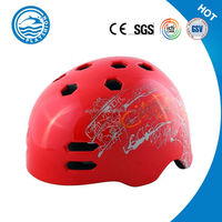 cycling skating skateboard helmet 11 air vent customized printing BMX helmet