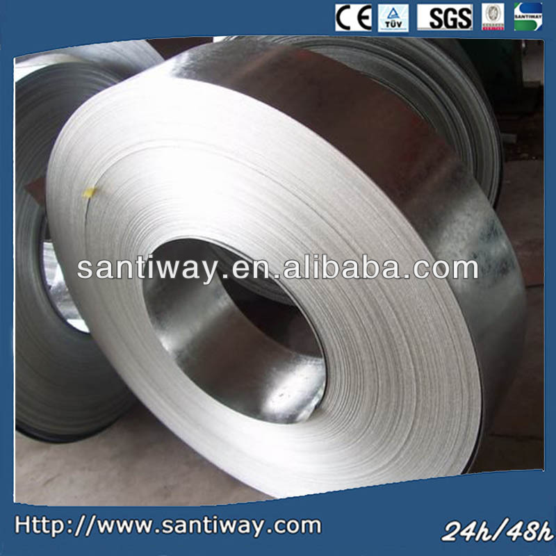 Cold rolled steel strip for baling hoop