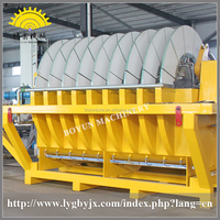 Disc ceramic vacuum filter gem mining equipment