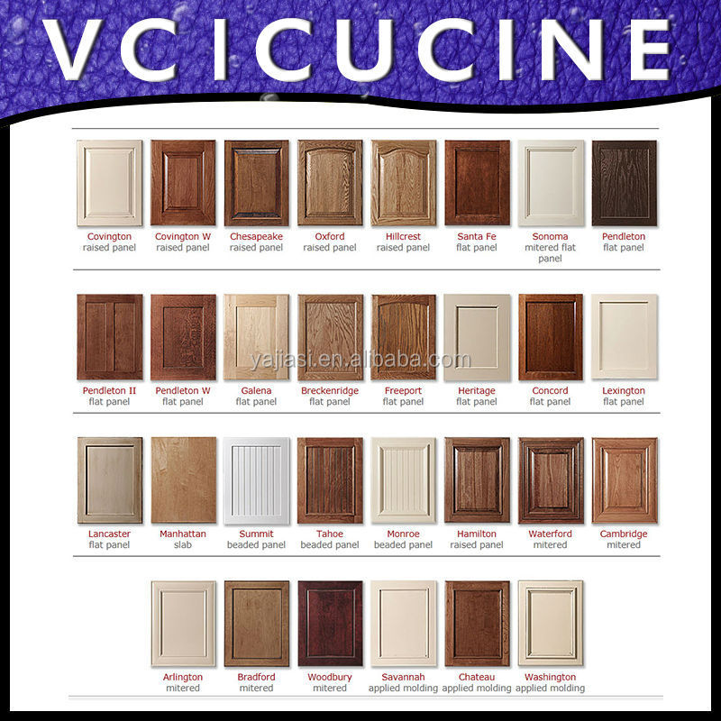 Foshan High Quality Melamine Kitchen Doors