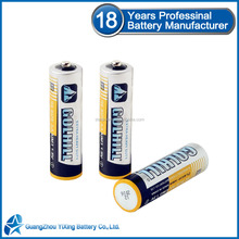 18 years battery factory Um3 R6 aa size battery
