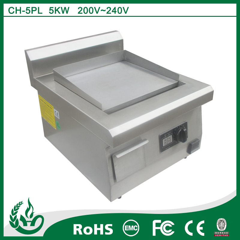 temperature resistant commercial electric teppanyaki grill