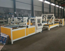 Hebei Dongguang automatic high speed folding and gluing machine for box packing