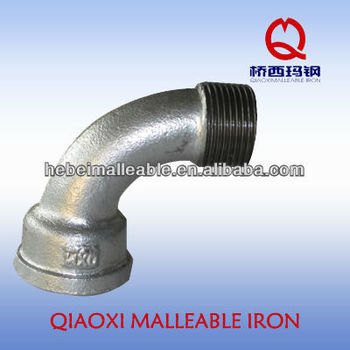 expansion joint beaded malleable cast iron fitting 90 degree Bends