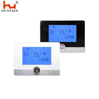 Programmable LCD Display Gas Boiler Thermostat For Room