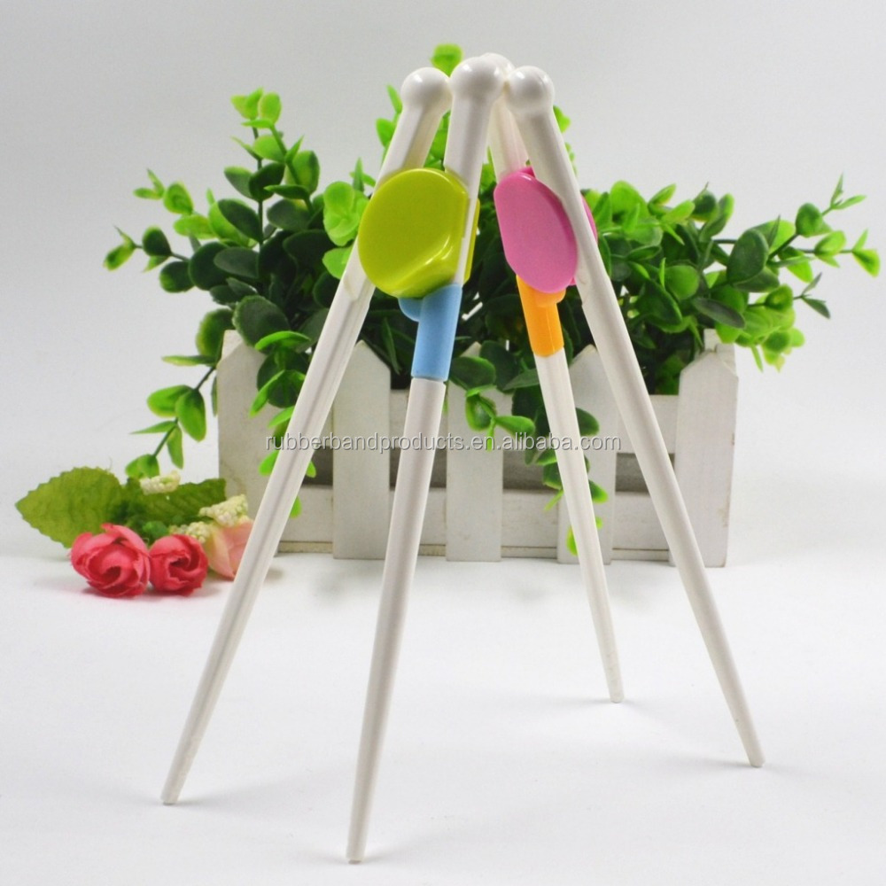 Kids Trainning Disposable Silicone Chopstickes With Logo, Wholesale Baby Silicone Chopstick With Helper