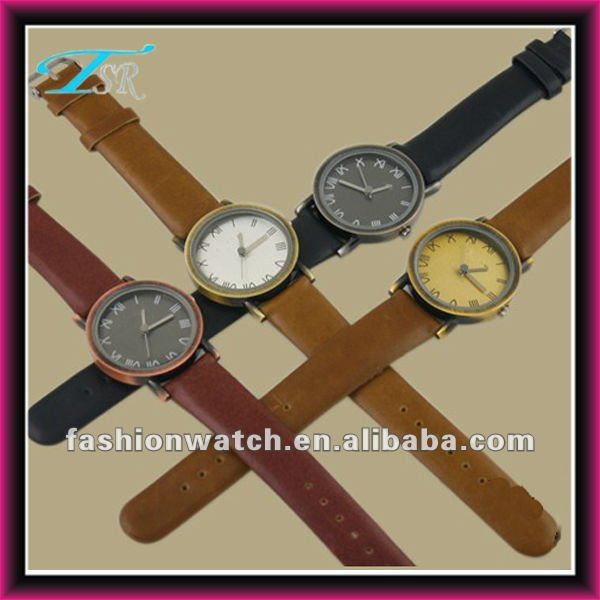 2013 new year gift TSR trend fashion western quartz cheap designer watches for men japan movt stainless steel