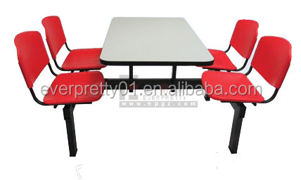 School Furniture Manufacturer Canteen Table and Chair